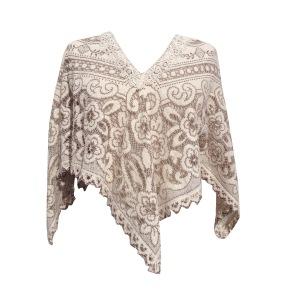 angel crochet wing top front