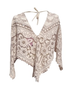 angel crottchet wing top back